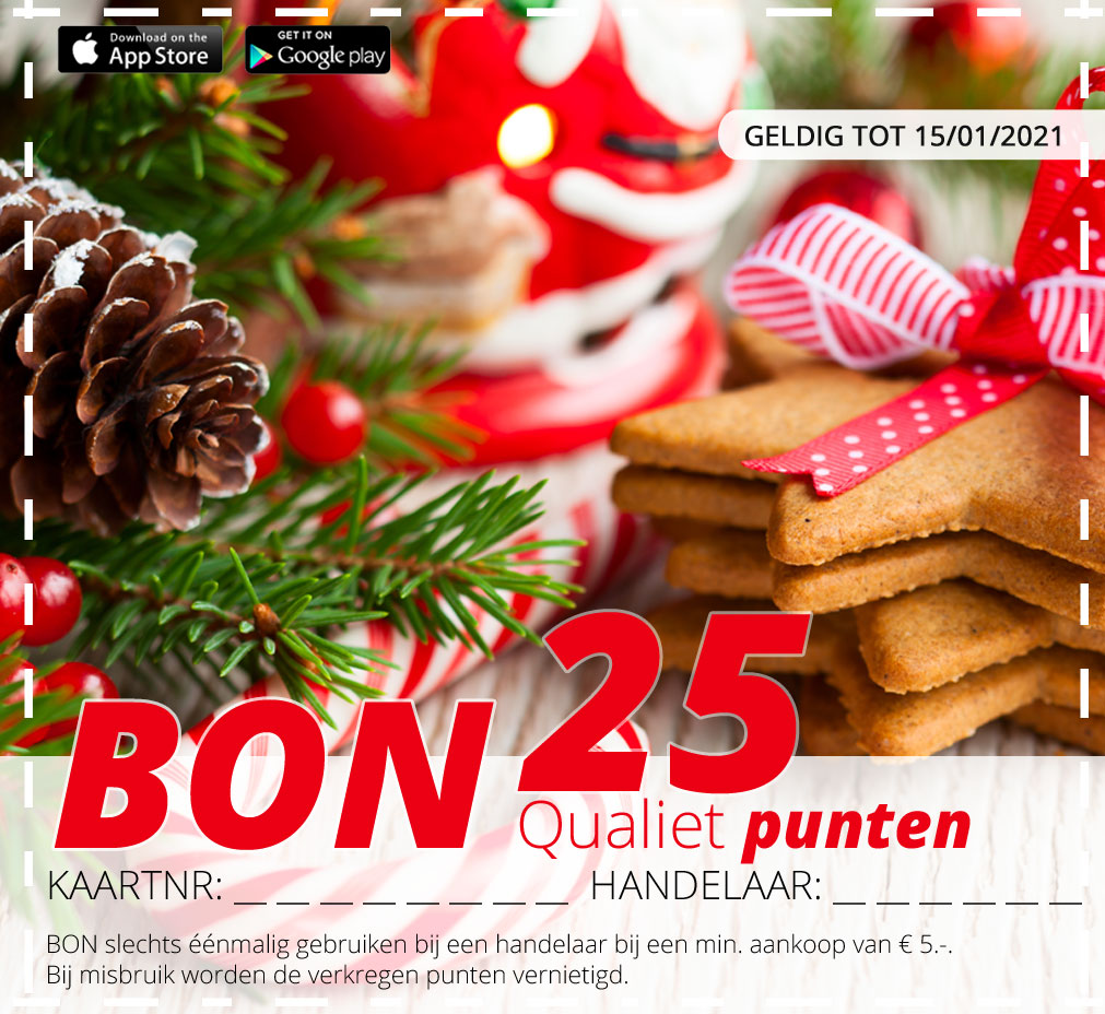 25puntenBON